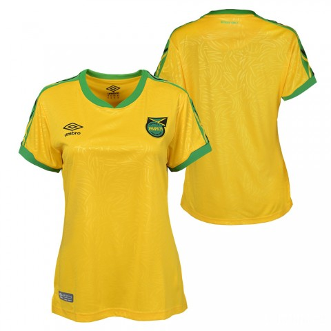 last chance 18/19 jamaica home jersey - womens yellow limited sale best price