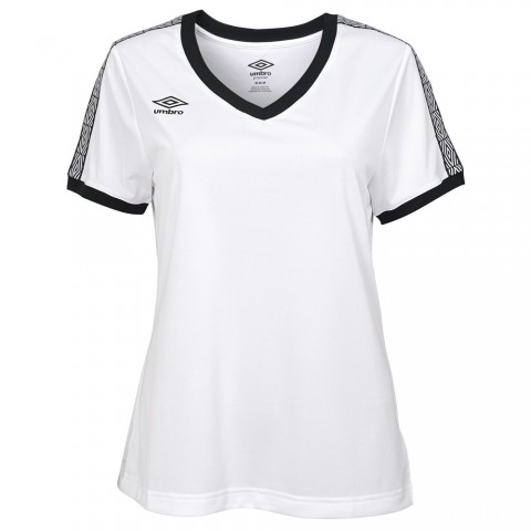 best price signature v-neck tee - white/black beauty limited sale last chance