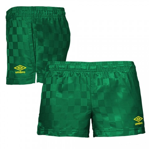 last chance checkerboard short - army green/golden kiwi best price limited sale