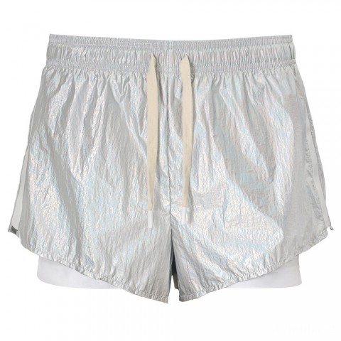 best price shine double layer short - white last chance limited sale