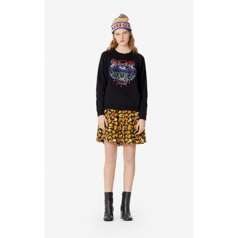 limited sale tiger sweatshirt with fade - black best price last chance