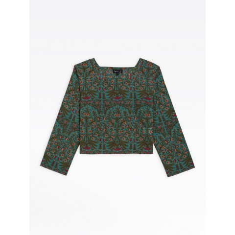 best price diba top with floral print limited sale last chance
