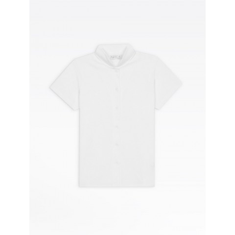 best price white jersey violaine shirt limited sale last chance