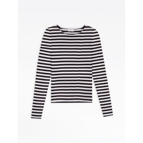 best price white/black striped knox t-shirt limited sale last chance