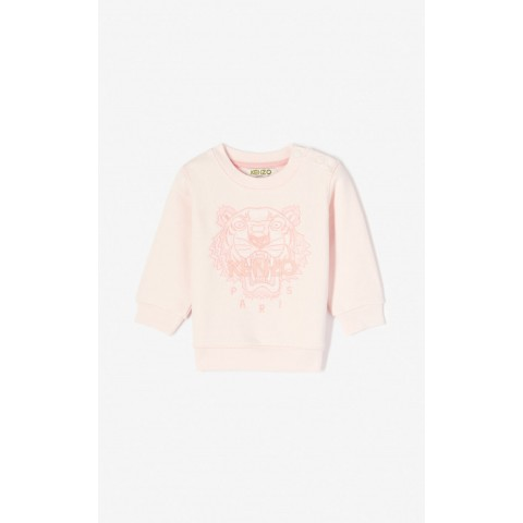 best price tiger sweatshirt - faded pink limited sale last chance