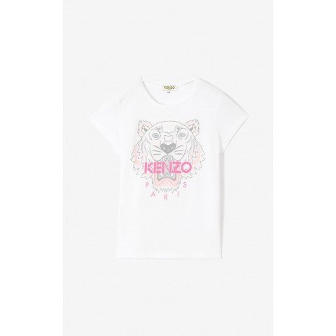 best price tiger t-shirt - white limited sale last chance