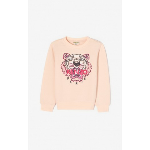 limited sale tiger sweatshirt - faded pink last chance best price